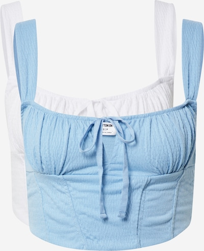 Cotton On Top 'Cami' in Blue / White, Item view