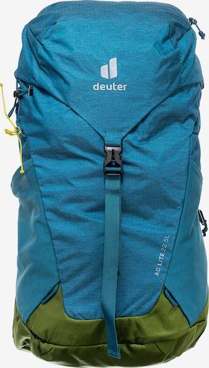 DEUTER Rucksack in himmelblau / khaki, Produktansicht