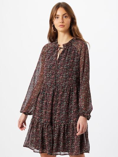 VERO MODA Kleid 'CAROLINE' in mischfarben / schwarz, Modelansicht