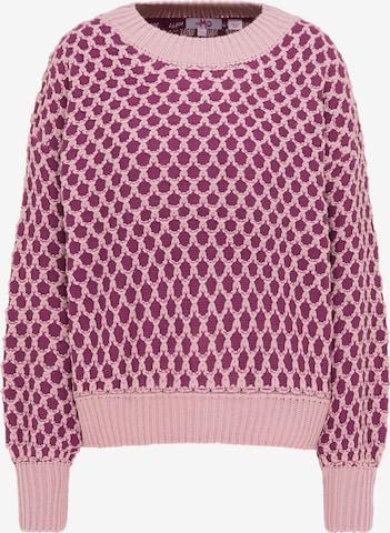 MYMO Υπερμέγεθες πουλόβερ σε ροζ