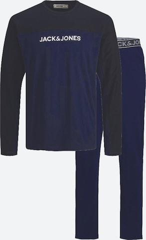 Jack & Jones Junior Pidžaama 'JACTIKI LOUNGE', värv sinine