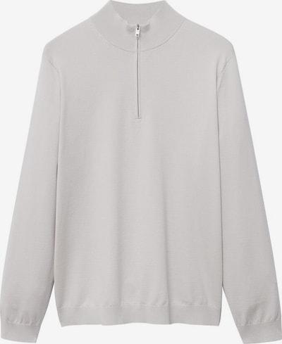 MANGO MAN Pullover in hellgrau, Produktansicht
