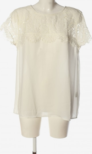 Soyaconcept Kurzarm-Bluse in XL in wollweiß, Produktansicht
