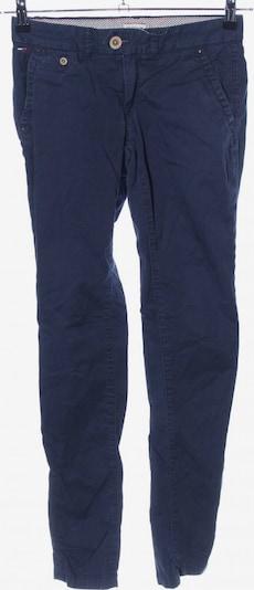 TOMMY HILFIGER Bundfaltenhose in XXS in blau, Produktansicht