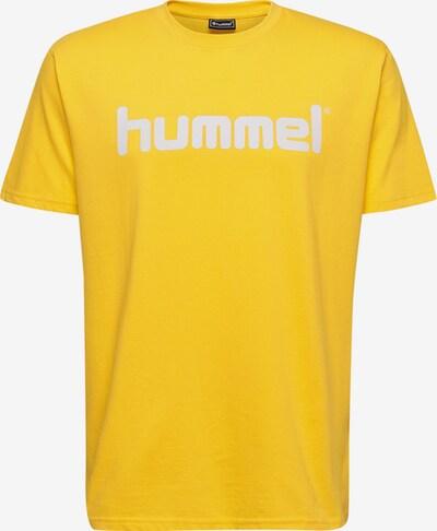 Hummel T-Shirt in gelb / weiß, Produktansicht