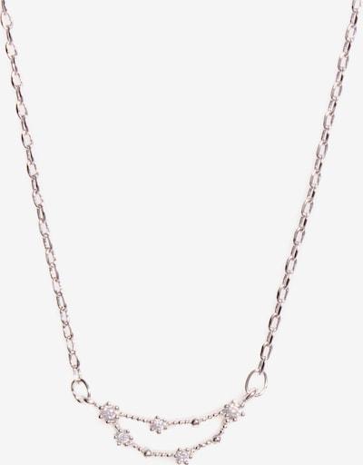 Arion Jewelry Ketting in de kleur Zilver / Transparant, Productweergave