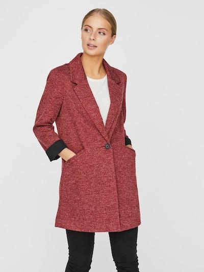 VERO MODA Blazers in de kleur Rood / Zwart, Modelweergave