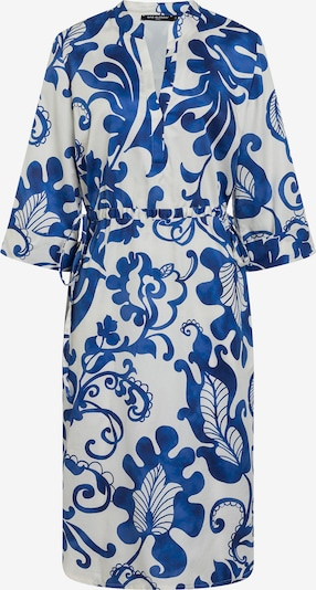 Ana Alcazar Blusenkleid ' Daelis ' in royalblau / weiß, Produktansicht