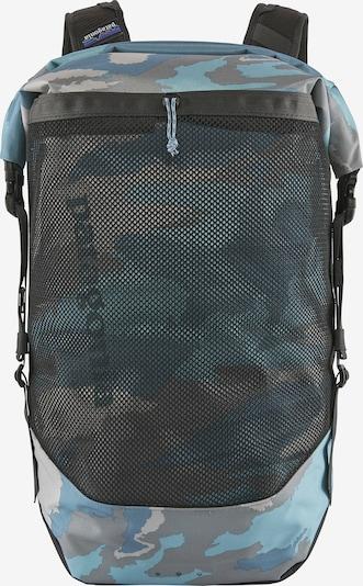 PATAGONIA Rucksack in rauchblau / hellblau / graumeliert / mischfarben / schwarz, Produktansicht