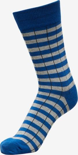 Calzino SELECTED di colore blu / navy / grigio chiaro, Visualizzazione prodotti