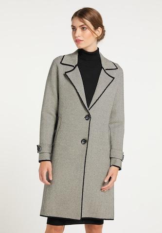 Manteau en tricot usha BLACK LABEL en noir