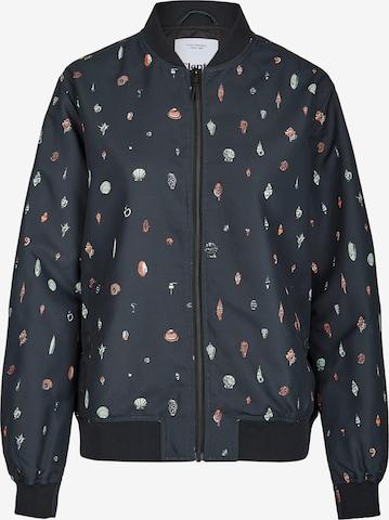 Cleptomanicx Between-Season Jacket 'Shell Bomber' in Black