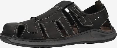 JOSEF SEIBEL Sandale in schwarz, Produktansicht