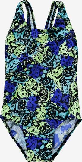 SPEEDO Badeanzug in blau / mischfarben, Produktansicht