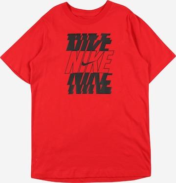Tricou de la Nike Sportswear pe roșu