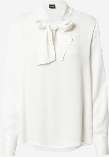 s.Oliver BLACK LABEL Блуза в бяло, Преглед на продукта