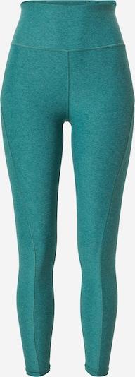 PUMA Pantalon de sport en vert chiné, Vue avec produit