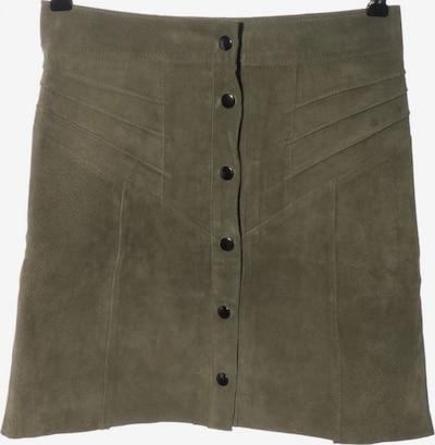 Costes Lederrock in XS in khaki, Produktansicht
