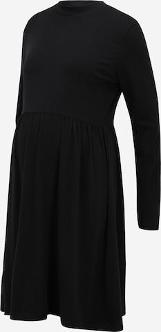 Mamalicious Curve Dress 'SIA' in Black