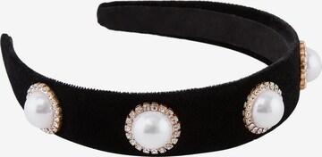 PIECES Biżuteria do włosów 'Afint' w kolorze czarny