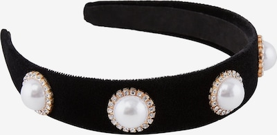 PIECES Hairband 'Afint' in rosegold / schwarz / perlweiß, Produktansicht