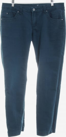 zero Straight-Leg Jeans in 32-33/30 in petrol, Produktansicht