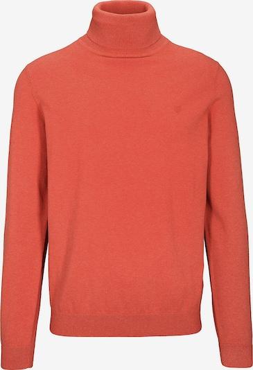 BASEFIELD Pullover in orangerot, Produktansicht