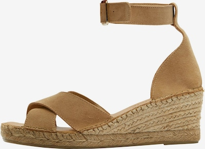 Sandale cu baretă 'SLFESTHER' SELECTED FEMME pe bej, Vizualizare produs