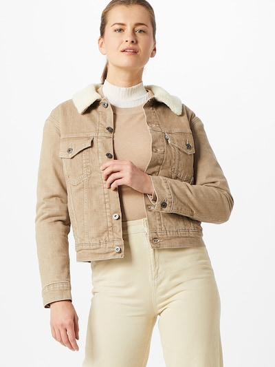 Levi's Made & Crafted Jacke in beige, Modelansicht