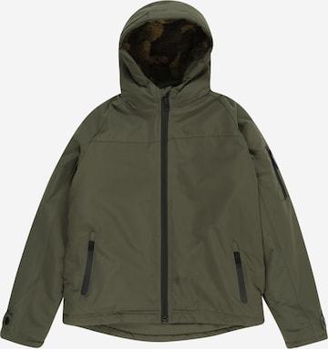 LEMON BERET Winter Jacket in Green