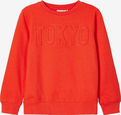 NAME IT Sweatshirt in orange, Produktansicht