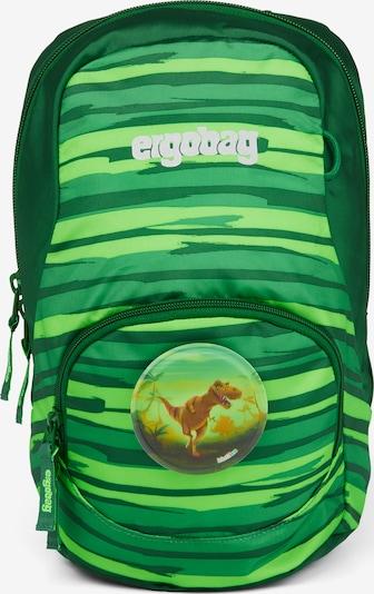 ergobag Rucksack 'Ease ' in grün, Produktansicht