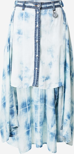 DIESEL Sukně 'SUSAN' - modrá džínovina / světlemodrá / bílá, Produkt