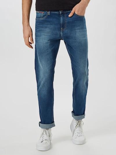 Tommy Jeans Kavbojke 'Ryan' | temno modra barva, Prikaz modela