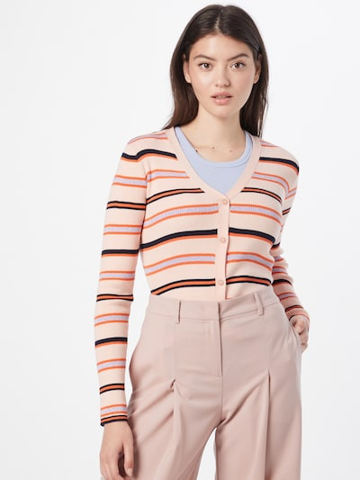 NÜMPH Strickjacke 'CAMILLA' in mischfarben, Modelansicht
