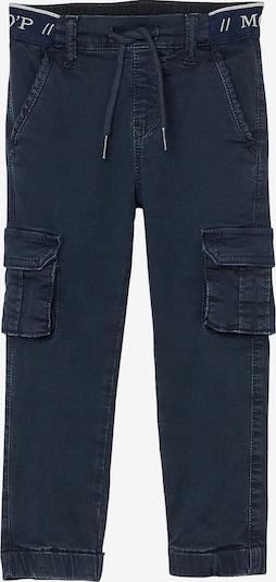 Marc O'Polo Junior Hose in nachtblau / hellgrau, Produktansicht