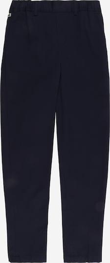 LACOSTE Pantalon en bleu nuit, Vue avec produit