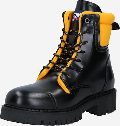Tommy Jeans Stiefel in gelb / schwarz, Produktansicht