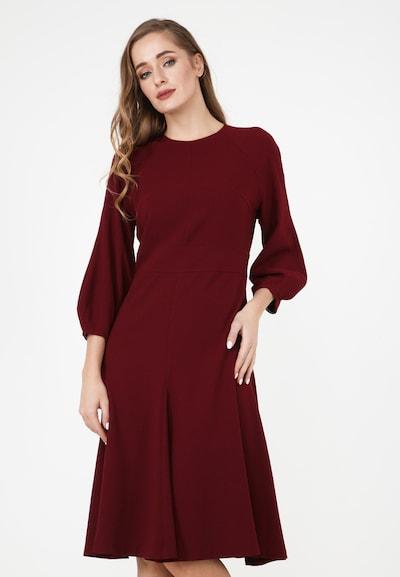 Madam-T Kleid 'Charlotta' in rot, Modelansicht