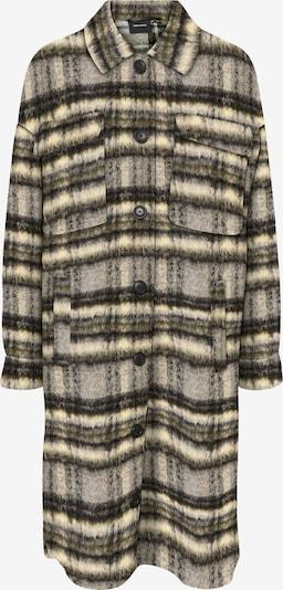 VERO MODA Between-Seasons Coat 'Gemma' in Beige / Grey / Dark grey, Item view