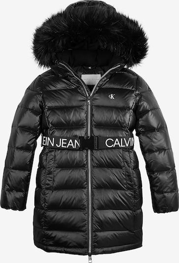 Calvin Klein Jeans Plašč | črna / bela barva, Prikaz izdelka