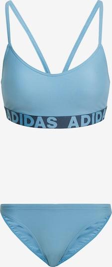 ADIDAS PERFORMANCE Bikini in aqua / schwarz, Produktansicht