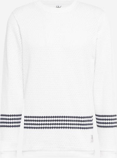 bleed clothing Pullover 'Wavestripe' in schwarz / weiß, Produktansicht