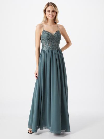 mascara Kleid in taubenblau, Modelansicht
