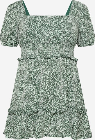 Missguided Plus Dress in Green