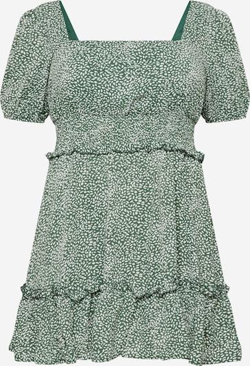 Missguided Plus Kleid in grün / weiß, Produktansicht