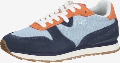 CAMEL ACTIVE Sneakers in Navy / Light blue / Orange, Item view