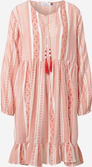 Zwillingsherz Robe-chemise 'Nala' en rouge / blanc, Vue avec produit