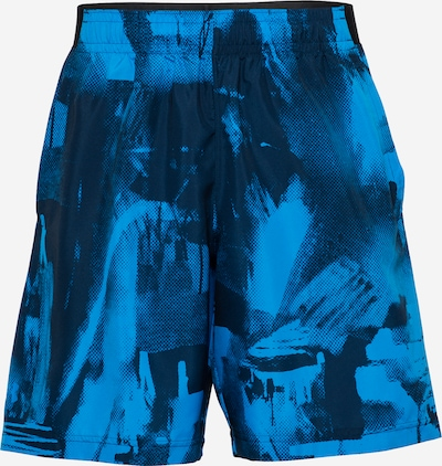 UNDER ARMOUR Sporta bikses zils / melns, Preces skats