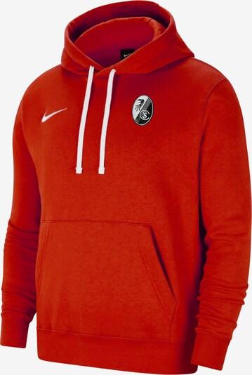 NIKE Sweatshirt in rot / schwarz / weiß, Produktansicht